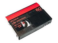 mini Dv kazeta  od 1,90Kč/min