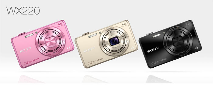 Sony CyberShot DSC-WX220 + pouzdro   5890 Kč