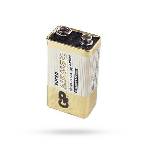 9V baterie alkalická  89 Kč