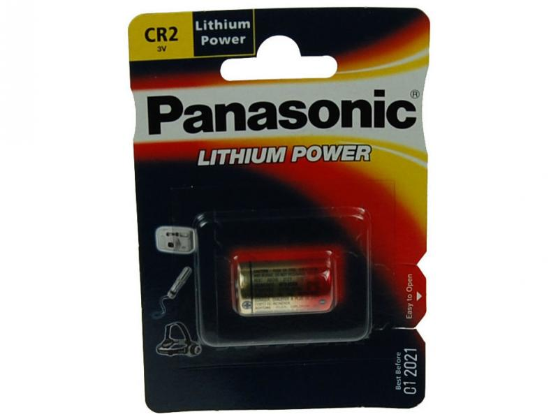 fotobaterie CR2 3V Panasonic Lithium