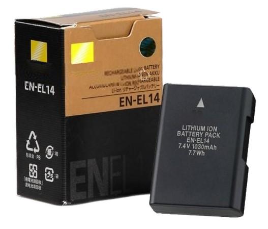 Baterie Nikon 1490 Kč