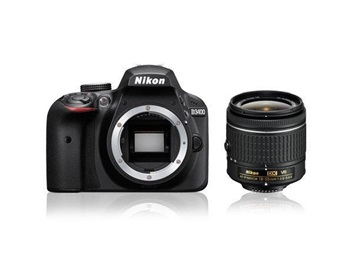 Nikon D3400 18-55  13 990,-