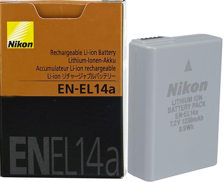 Nikon EN-EL14, EN-EL14a  1390Kč