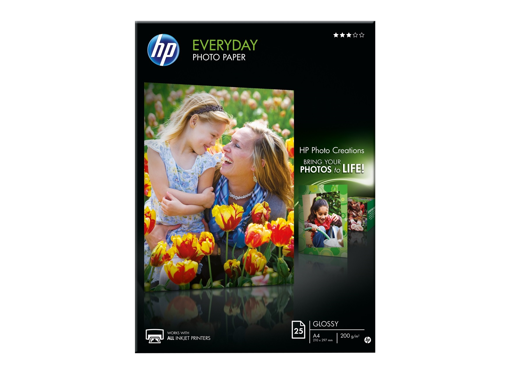 HP Everyday 200g/m A4/25ks 299 Kč