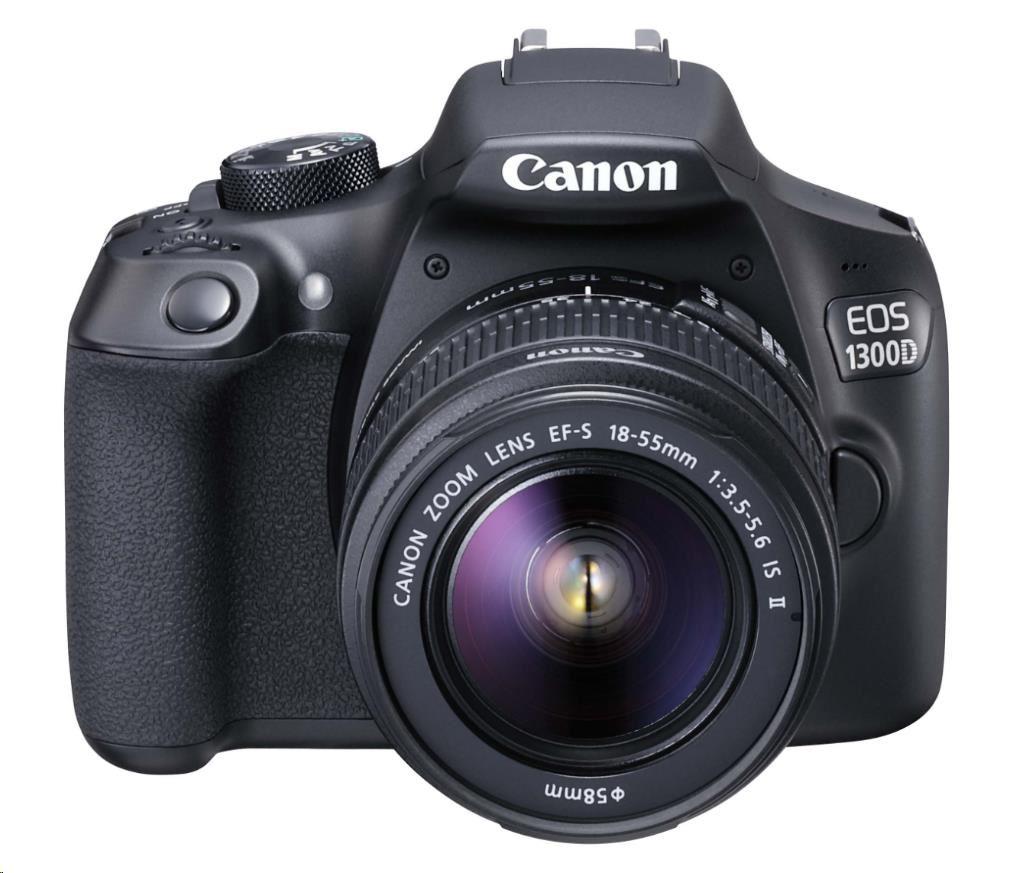 Canon 1300D +18-55mm IS II- 10990Kč