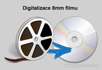 8mm, 16mm film  od 25Kč/min